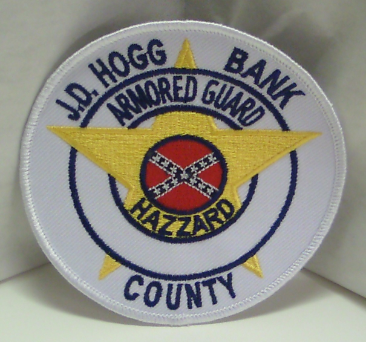 Hazzard County Armored Guard Patch