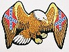 "Confederate Eagle Patch 3"" x 4"""
