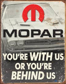 Mopar Tin Sign