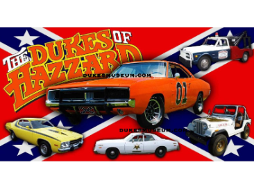 General Lee & All Dukes Cars Banner Photo
