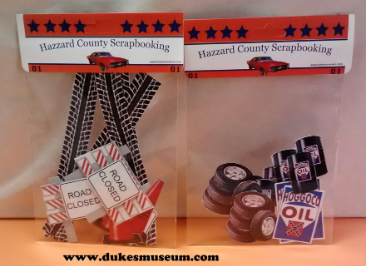 Dukes of Hazzard Scrapbook Hazzard Garage
