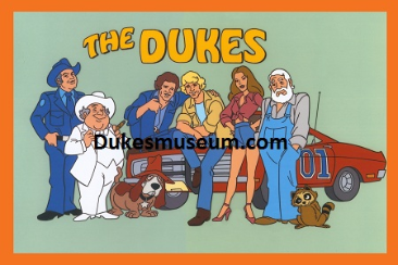 The Dukes Cartoon Bo & Luke Cast
