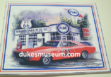 Mopar Prints 'The General Lee'