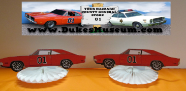 Car Table Top Fans- General Lee