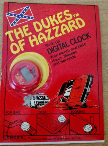 Dukes of Hazzard Stick Up Clock