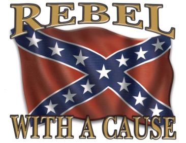 Rebel with a Cause Flag  3'x5'