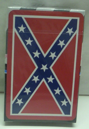 Confederate playing cards
