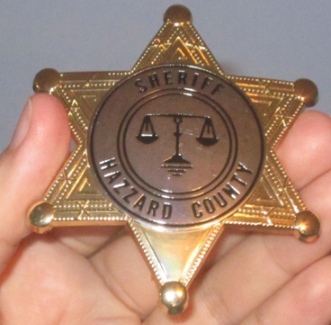 Sheriff Rosco Badge