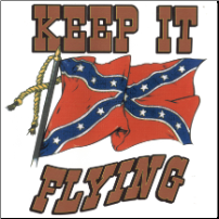 Keep It Flying Rebel  3'x5' (SKU: R7209)