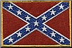 "Confederate Flag Patch 4"" x 5.5"" (SKU: RL1768)"