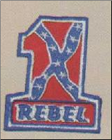 Rebel #1 Patch (SKU: PT8319)