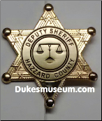Dukes Sheriff Uniform Patches & Badges