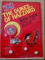 Dukes of Hazzard Stick Up Clock (SKU: DOHCLOCK)