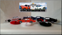 5 Dukes Car Table Top Party Decoration Set (SKU: dukesracingcars)