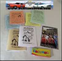 "Mini Coloring Books w 4"" x 6"" Cousin Picture (SKU: minicoloringbooks6pack)"