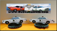 Rosco's Sheriff Car Table Top Party Decorations (SKU: sheriffcarfan5)