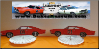 "General Lee 5"" Table Top Decorations (SKU: generalfans5)"