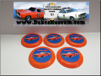 General Lee Frisbee Flyers (SKU: generalfrisbee)