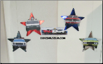 Car Hanging Stars (SKU: fourhangingstars9)