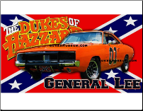 General Lee Banner Print (SKU: generalbanner)