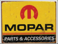 Tin Sign Mopar Logo '64 - '71 (SKU: TN227)