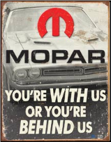 Mopar Tin Sign (SKU: TN341)