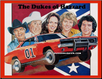 Dukes of Hazzard Album Photo (SKU: albumphoto)