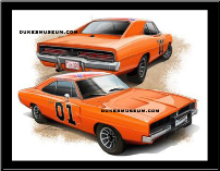 General Lee Front & Back Photo (SKU: generalfrontbackprint)