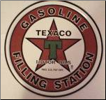 Texaco Gasoline Tin Sign (SKU: TN112)