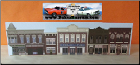 "Hazzard County Square Standee  16"" x 4 1/2"""