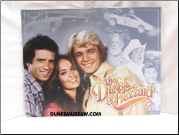 Dukes of Hazzard Cast Tin Sign